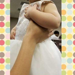 Cynthia Rowley Paisley Formal Dress Pale Pink 12M